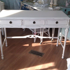 Eclectic Desks And Hutches by Donna Thomas Vintage Chic Furniture