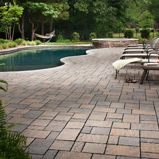 Traditional Swimming Pools And Spas by Blue Max Materials