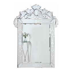 "PWG Lighting / Lighting By Pecaso - Xanthe Crystal Vanity Fixture MR-1713C - Mirror 48.2""x.9""x51""H CL"