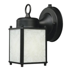 Designers Fountain - Designers Fountain ES1161 Single Light Down Lighting Energy Star Outdoor Wall Sc - Features: