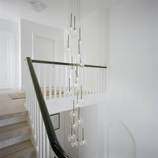 transitional staircase Modern Staircase
