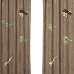 Dinosaur Land Window Panels (Set of 2)