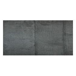 """Rondine - Vecchio Cemento 12""""x24"""", Anthracite, 1 Piece (2 Square Feet) - Sold per Piece - there are 2 square feet per piece"""