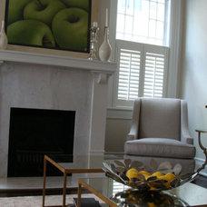 Contemporary Living Room by Shotgun Design Group, LLC