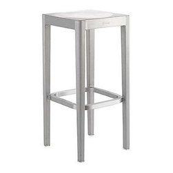 Emeco Barstool - Brushed - Classic while undeniably modern, here is another success story brought to you by Philippe Starck.