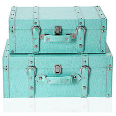 Contemporary Decorative Trunks by Z Gallerie