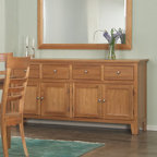 AYCA Furniture - Cottage Cherry Buffet/Sideboard - Cottage Cherry Buffet/Sideboard