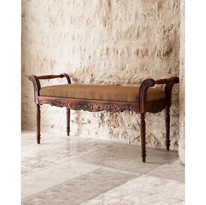 Traditional Benches by Horchow