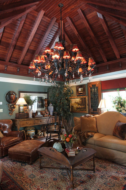 Traditional Living Room by Nathan Taylor for Obelisk Home