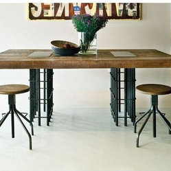 Rebar Dining Table