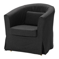 IKEA of Sweden - EKTORP TULLSTA Chair cover - Chair cover, Idemo black