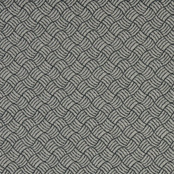Black And Silver Geometric Heavy Duty Crypton Fabric By The Yard - P6067 is a woven crypton fabric. This material is breathable, stain, bacteria, moisture and abrasion resistant. Stains like blood and urine are easily removable with water and mild soap.