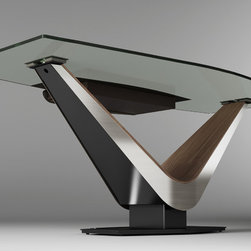 Elite Modern - Victor Desk - Join Contemporary Lifestyles this Labor Day weekend for our semi annual sale. Save 15% - 35% off Elite Modern products.