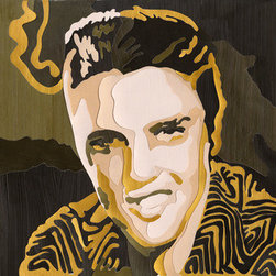 The King (Original) by Lum - This piece is intended to pay homage to Elvis Presley.