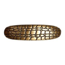 Big Sky Hardware - Crocodile Pull - Antique Brass (BSH-683512) - Crocodile Pull - Antique Brass
