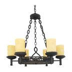 Quoizel Lighting - Quoizel LP5006IB La Parra Imperial Bronze 6 Light Chandelier - 6, 100W A19 Medium