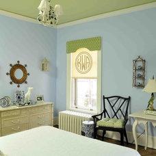 Traditional Bedroom Anne Wangman-Peabody's Interiors