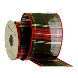 Silk Plants Direct - Silk Plants Direct Plaid Dupion Ribbon (Pack of 6) - Silk Plants Direct specializes in manufacturing, design and supply of the most life-like, premium quality artificial plants, trees, flowers, arrangements, topiaries and containers for home, office and commercial use. Our Plaid Dupion Ribbon includes the following: