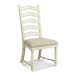Panama Jack Coronado White Side Chair