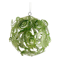 Silk Plants Direct - Silk Plants Direct Metal Filigree Ornament (Pack of 4) - Silk Plants Direct specializes in manufacturing, design and supply of the most life-like, premium quality artificial plants, trees, flowers, arrangements, topiaries and containers for home, office and commercial use. Our Metal Filigree Ornament includes the following: