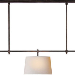 Bryant Large Billiard Light | Circa - Whether suspended over your dining room table or kitchen island, there is an obvious soothing assurance to this light fixture that would calm any space.