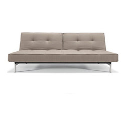 Per Weiss: Splitback Sofa - Versatile and functional, this sofa can do the normal sofa thing, be folded down into a bed, or if feeling indecisive, do a one side up, the other side down thing.