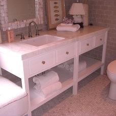 Modern Bathroom Vanities And Sink Consoles by Budget Plumbing & Drain