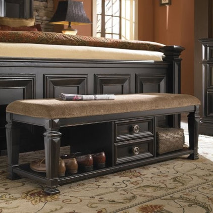 Traditional Upholstered Benches by Hayneedle