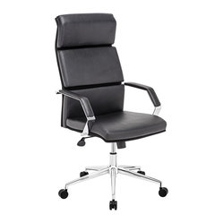 Zuo Lider Pro Black Office Chair