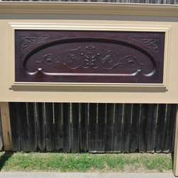 Door Headboards and More - Vintage Headboards makes furniture using repurposed materials and upcycled materials like old doors, antique doors and barn wood.  Our products start at $125 and go up depending on the materials used and the finish you request.