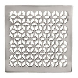 "Newport Brass - Newport Brass 233-603 Decorative Drains 6"" Square Shower Drain Grid - Features:Solid brass constructionEasy to install - magnetically securedRequires Newport Brass drain throat 277-02, sold separatelySpecifications:Length: 5-7/8""Width: 5-7/8""Depth: 3/16"""