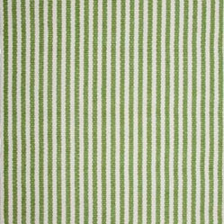 Chester Green-White Rug - Why not go with an ecofriendly option when picking your next rug? It's one trend you don't want to avoid. The handwoven stripes are created from 100 percent recycled fibers. You just need to pick from five sizes or order a swatch to test the look in your room.