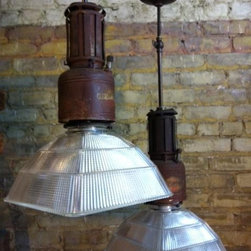 Industrial Kitchen pendants - Our most popular reposted/repinned image on the internet!