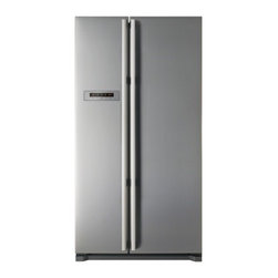 Fagor - FQ7925XUS 20.3 cu. ft. Capacity Counter-Depth Side by Side Refrigerator  Interna - With unrivaled style and Energy Star rated performance the Fagor Energy Star Side-by-Side Refrigerator Freezer FQ7925XUS is sure to be the focal point of your kitchen Featuring an electronic temperature control the Turbo-X cooling system will keep yo...
