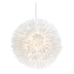 """Bloom Pendant Lamp - Bloom Pendant Lamp features flower shaped cutouts with 138"""" cord. 60 watt bulb max."""