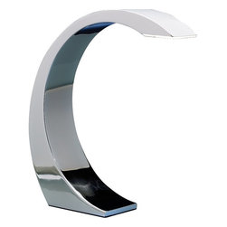 Lumisource - Element Touch Lamp - The Element Touch Lamp is both sleek and stylish. Light up any work space in a flash by simply touching the chrome surface. With its simple to use activation and enhanced with a super-bright 3W LED light, this desk lamp is an amazing addition to any home or office.