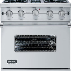 "Viking Viking Professional Custom Series VGIC5304BSS 30"" Freestanding Gas -"