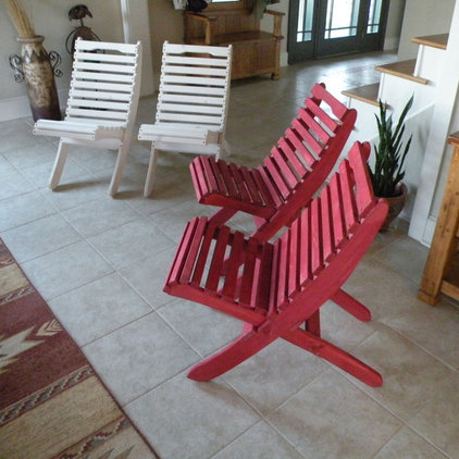 Outdoor Chairs by Craft Wright Woodworking