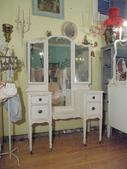Eclectic Bedroom & Makeup Vanities by Donna Thomas Vintage Chic Furniture