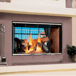 Magna-Fire™ See-Through - Regardless of your décor or your heating needs there is a fireplace from Lennox Hearth Products that will fit your home perfectly. From gas- and wood-burning to electric fireplaces, you have a long list of choices.