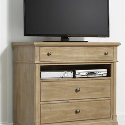 Liberty Furniture - Liberty Furniture Harbor View Media Chest in Sand Finish - Liberty Furniture ...