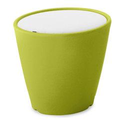 Domitalia - Green Omnia Vase / Seat with Cushion - -Pot/Vase/seat/Table