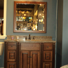 Bathroom Vanities And Sink Consoles by Frank Webb's Bath and Lighting Center