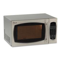 "Avanti - Touch Screen Microwave,900 Watts,19""x15-3/4""x11"",STST - Avanti 0.9cf Stnless Steel Finish Touch Microwave Touch-screen microwave offers 0.9 cubic foot capacity, 900 watts of cooking power, an electronic control panel and easy operation with one-touch cooking programs. Functions include speed defrost and defrost by weight. Microwave also features a digital cooking timer and stainless steel finish. Additional Specifications: -Color: Stainless Steel. -Quantity per Selling Unit: 1 Each. -Total Recycled Content: 0%. Product Keywords: Avanti Products, Microwave Ovens, 0.9cf Stnless Steel Finish Touch Microwave"