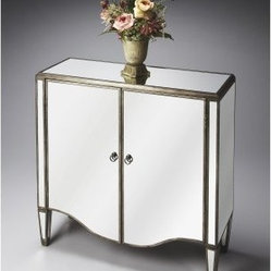 Butler Door Chest - Mirror