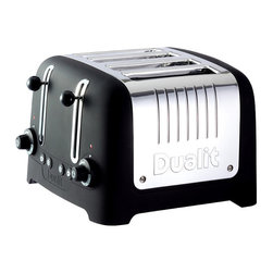 Frontgate - Dualit Chunky 4 Slice Lite Toaster-Off-White Soft Touch - Powerful four-slot toaster. Extra wide 38 mm slots. Peek & Pop® function allows you to view your toast without canceling the toasting cycle. Automatic pop-up feature. Bagel and defrost settings. The Dualit Chunky Four Slice Lite Toaster Soft Touch offers extra-wide slots and multiple temperature settings so you can prepare your toast, bagels, or English muffins just the way you like. The Peek & Pop function allows you to check the bread while toasting without canceling the toasting program. The bagel function allows for toasting on one side and warming the other.. . Peek & Pop function allows you to view your toast without canceling the toasting cycle. . . Eight-setting temperature dial with browning control. Electronic control timer. High lift mechanism with crumb tray. Easy to clean and maintain.