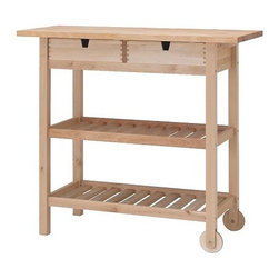Nike Karlsson - Förhöja Kitchen Cart - I have this cart for added storage in the kitchen, and it's been a lifesaver. It's great for holding pots, pans and gadgets.