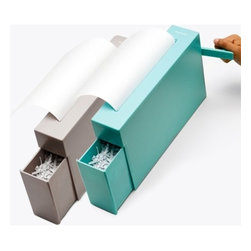 Handy Manual Shredder - A sleek manual shredder, like this, is necessary in every office. It's good for shredding private papers or ex-boyfriend letters, while also giving yourself an arm workout. No electricity required!