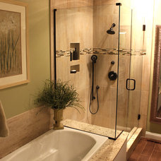 Transitional Showers by Cabinet-S-Top