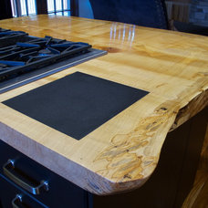Contemporary Kitchen Islands And Kitchen Carts by Paul Fuelling Woodworking